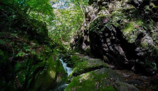 御岳山~大岳山:ロックガーデンと滝を巡る