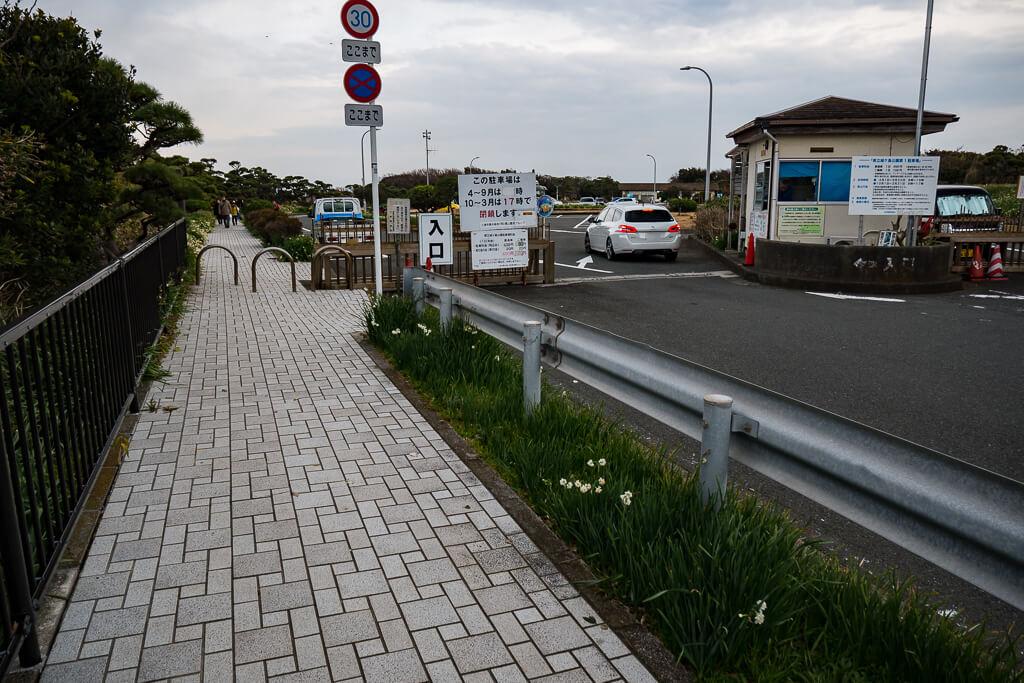 城ヶ島公園第1駐車場