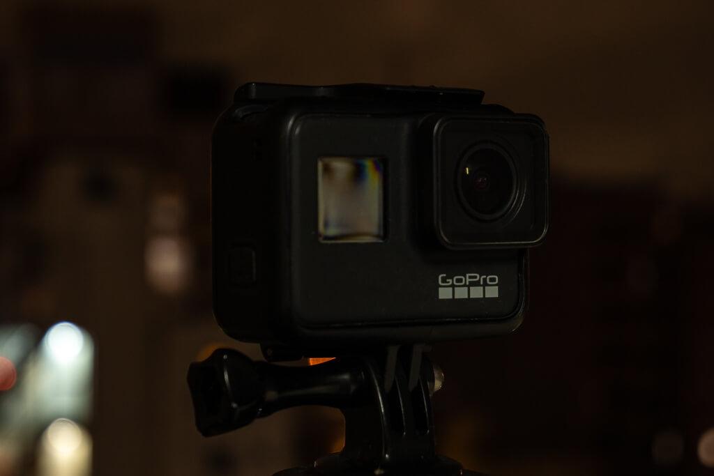 GoPro Hero7 Black ナイトラプスフォト