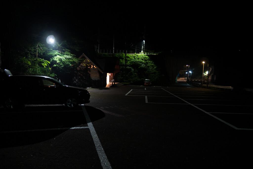 町営鳩ノ巣駐車場