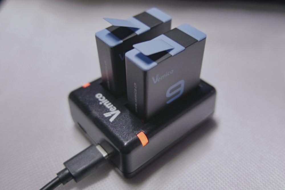GoPro HERO9 互換バッテリー